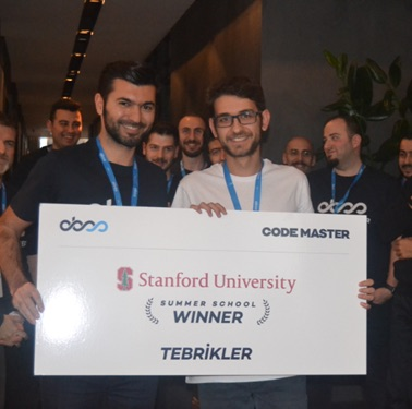 CS Student E. Bahadır Tülüce is the winner of 2020 OBSS Code Master Programming Contest